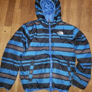 The North Face Boys Reversible winter coat  GUC